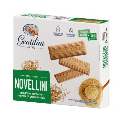 Novellini con grano saraceno e germe di grano tostato 500g