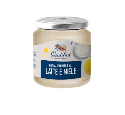Crema spalmabile al latte e miele 315g