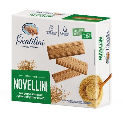 Novellini con grano saraceno e germe di grano tostato 1000g
