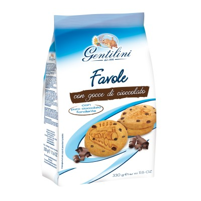 Favole with chocolate drops 330g